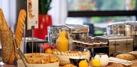 Medoc Novotel Meriadeck frukost