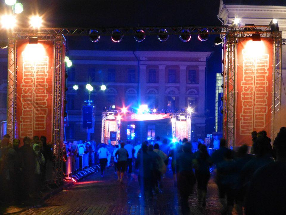 Midnattsloppet i Helsingfors - Loppet