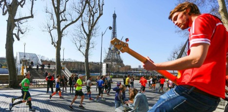 Paris marathon lopp 4