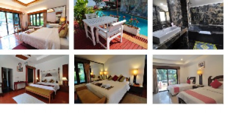 Tove Thailand hotellbild, montage