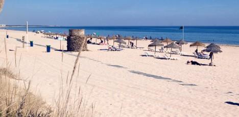 Yellow Monte Gordo Beach 6