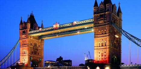 London Tjejmil - Tower Bridge