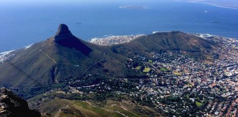 Utsikt från Taffelberget