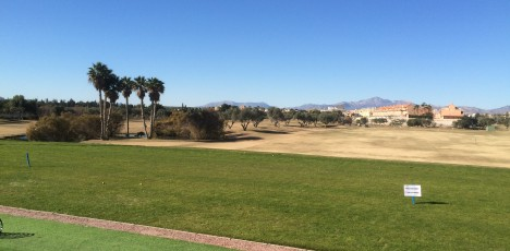 Friskis Alicante golf driving range
