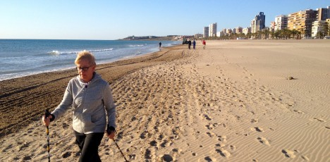 Friskis Alicante strand stav