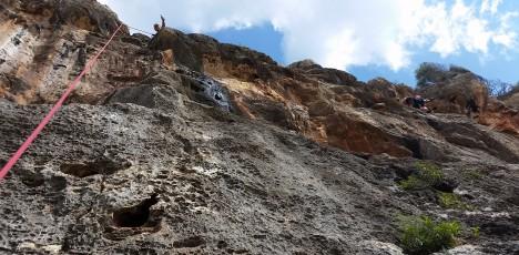 Mallorca bergsklättring