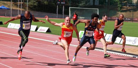 Perth Lyon 100m-M35-final