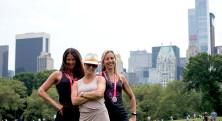 NYC Tjejmil Central Park skyline