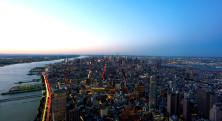 NYC Tjejmil Skyline