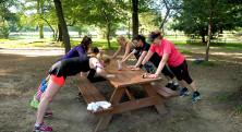 träning central park