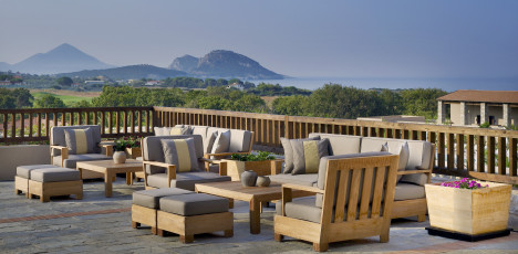 The Westin Costa Navarino - lobbyterrass