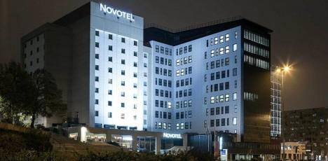 Medoc Novotel Meriadeck fasadbild