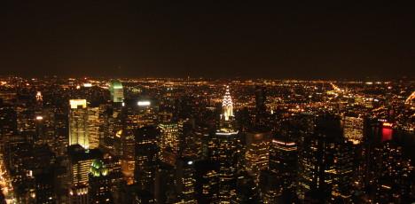 NY Half nattbild
