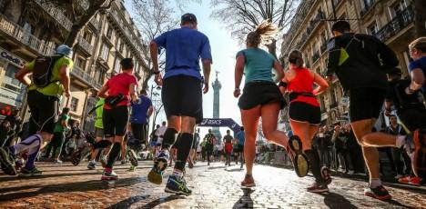 Paris marathon 5