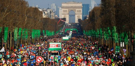 Paris marathon lopp 2