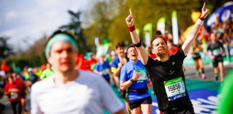 Paris marathon lopp 3