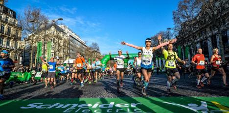 Paris marathon lopp