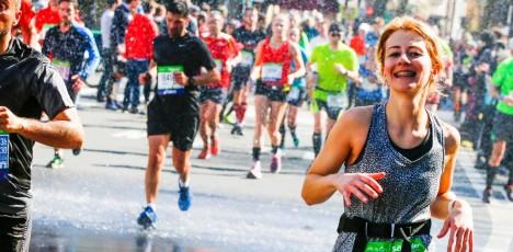 Paris marathon lopp 6