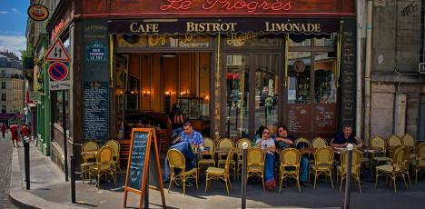 Uteservering Paris