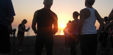 Turkiet stavgång soluppgång