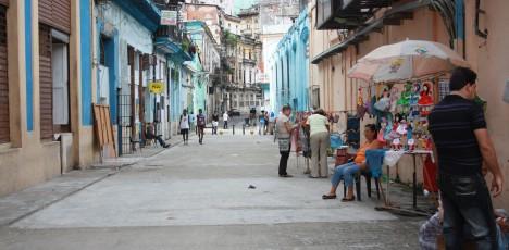 Havanna färgglada hus