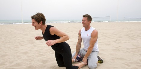 Friskis Alicante träning strand