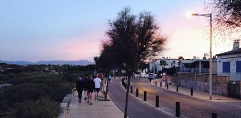 Mallorca morgonjogg