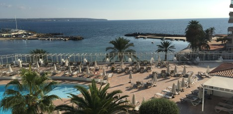 Mallorca balkongvy