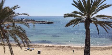 Mallorca strandpromenad