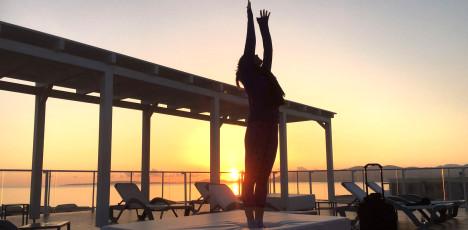 mallorca yoga terass